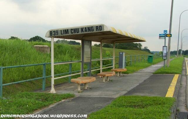 lim chu kang road old orange bus stop