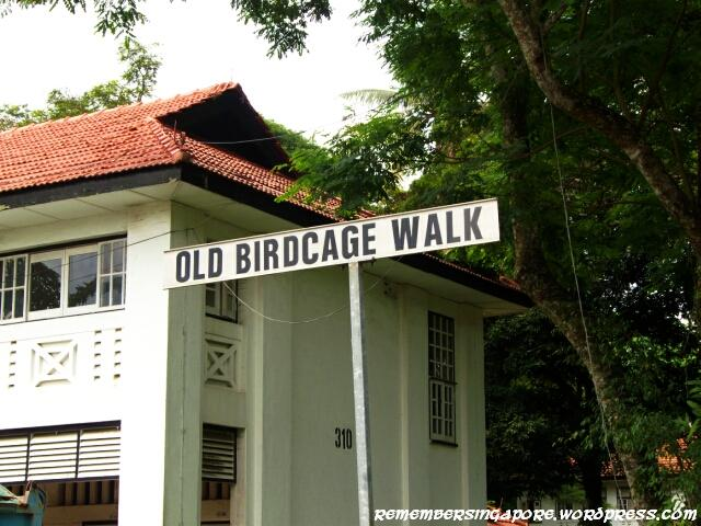 old road sign at seletar camp2