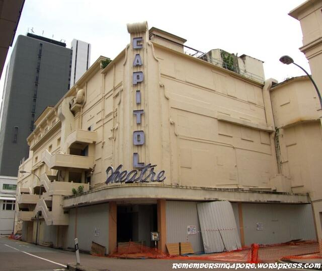 Capitol Theatre Building Remember Singapore