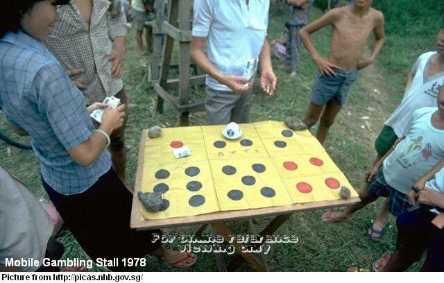 4D, Mahjong and Chap Ji Kee   History of Gambling in Singapore