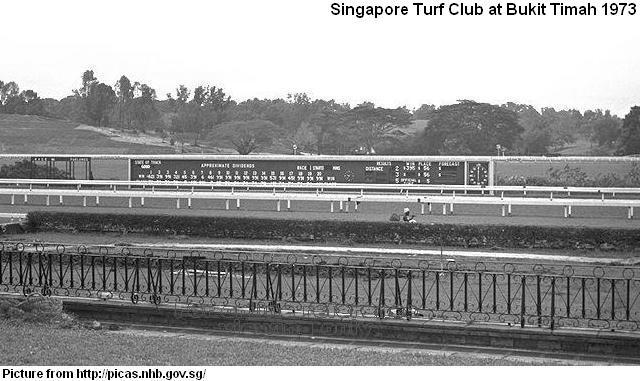 singapore turf club 1973