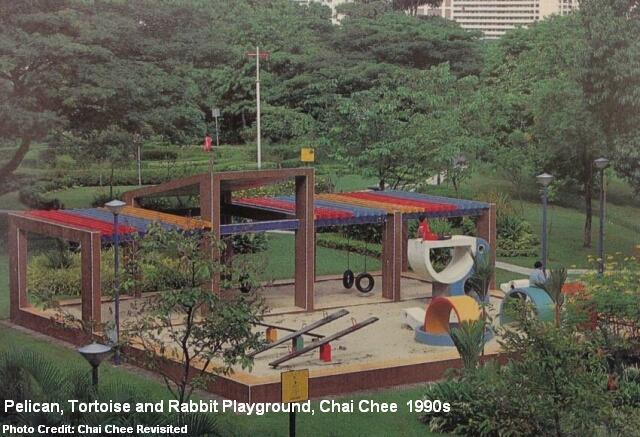 chai chee pelican playground 1990s