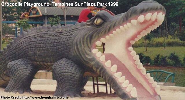 tampines sun plaza park crocodile playground 1998