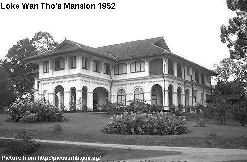 Loke Wan Tho S Mansion 1952 Remember Singapore