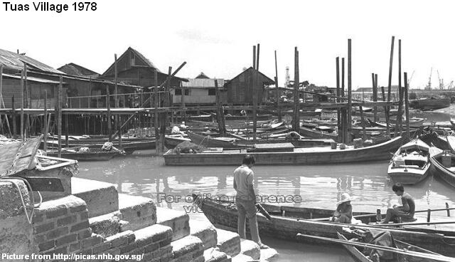 Image result for sampan singapore 1960