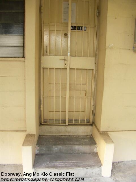 ang mo kio classic flat doorway