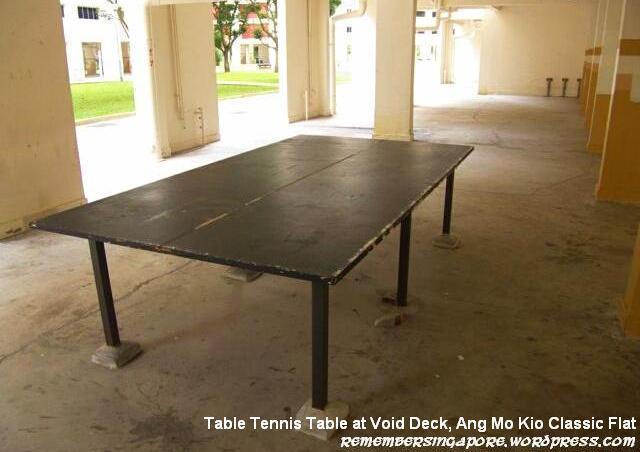 ang mo kio classic flat table tennis table