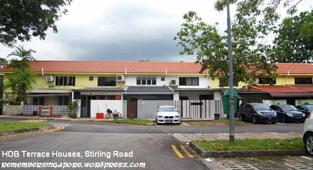 Hdb terrace houses at stirling for Terrace house singapore
