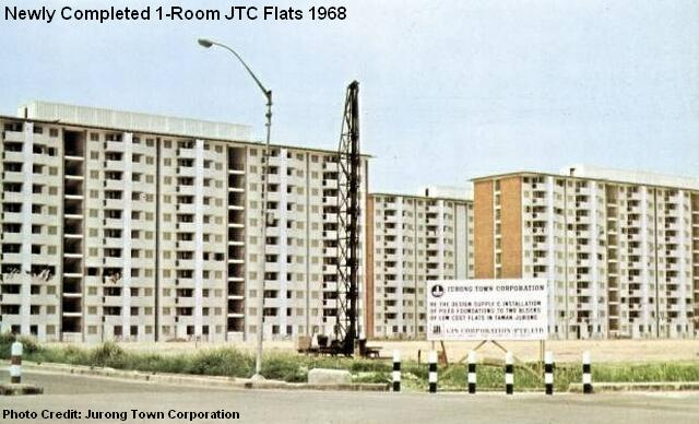 jtc 1-room flats 1968