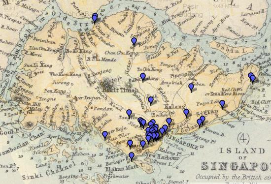Have removed Vintage maps singapore consider