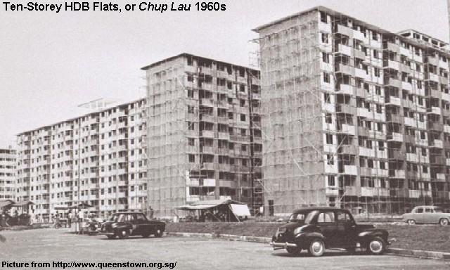 Tanglin Halt Hdb Flats 1960s Remember Singapore