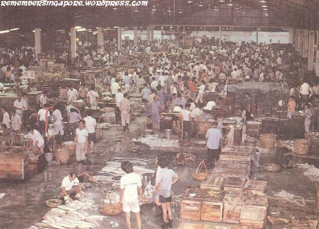 A pictorial gallery of singapore in 1980 remember singapore for Central fish market