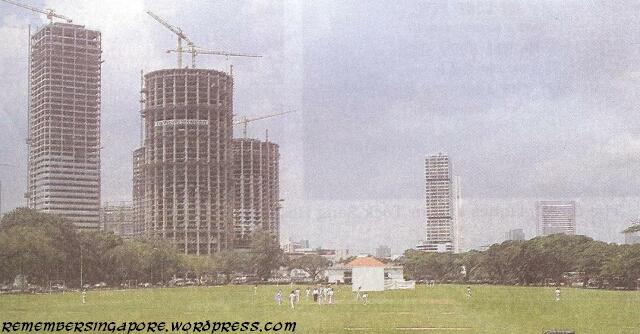 A pictorial gallery of singapore in 1980 remember singapore for Tallest hotel in singapore