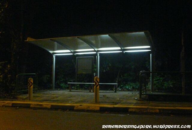 punggol road bus stop