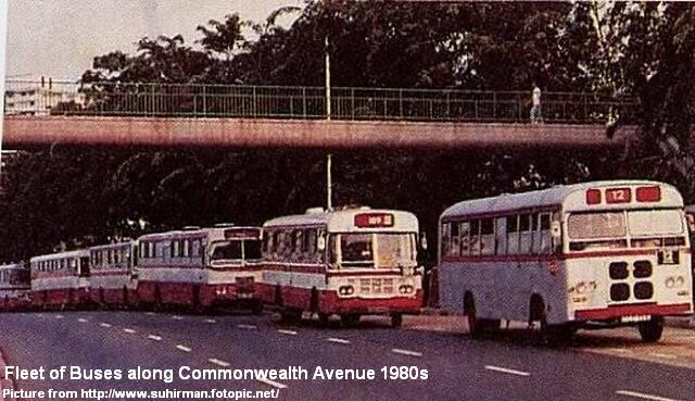 commonwealth ave bus fleet 1980s