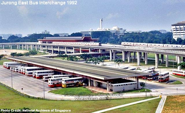 jurong east bus interchange 1992