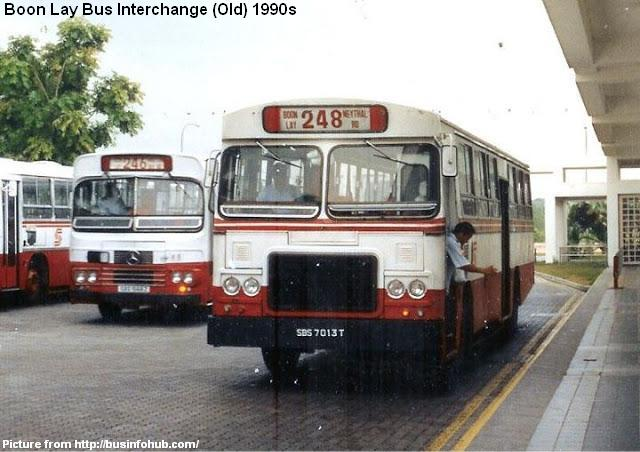 old boon lay bus interchange 1990s