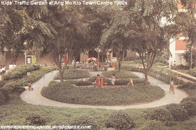 ang mo kio central traffic garden 1980