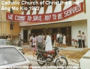 catholic church of christ the king ang mo kio 1982