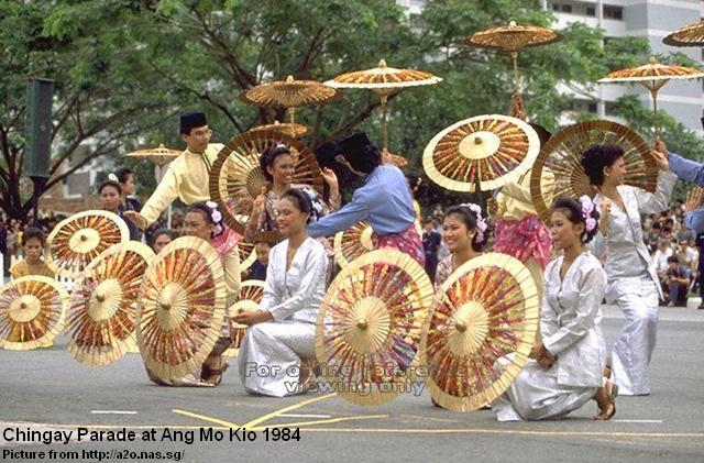 chinggay parade at ang mo kio 1984-2