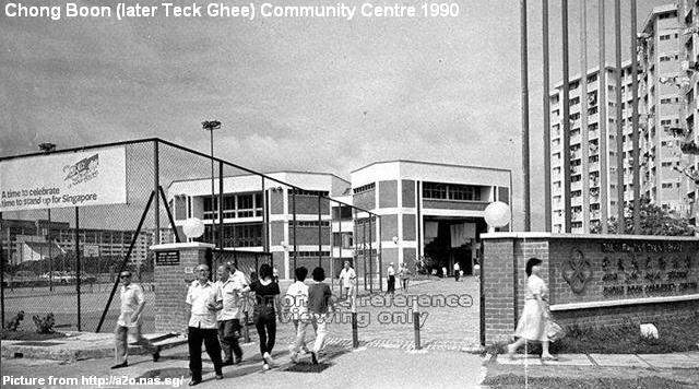 chong boon community centre 1990