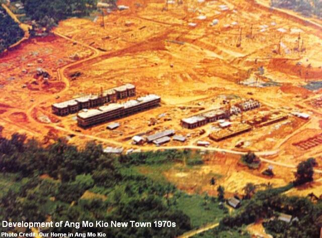 development of ang mo kio 1970s