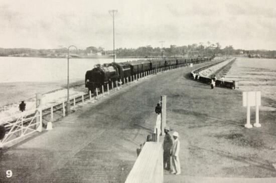singapore-johore causeway 1924 | Remember Singapore