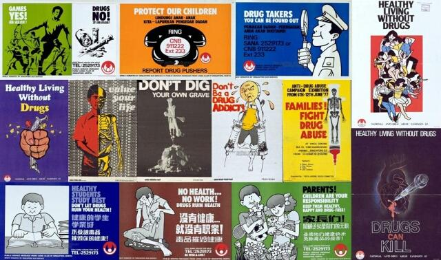 anti-drug abuse campaign (1970s-1980s)