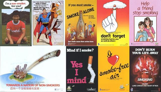 anti-smoking campaigns 1980s