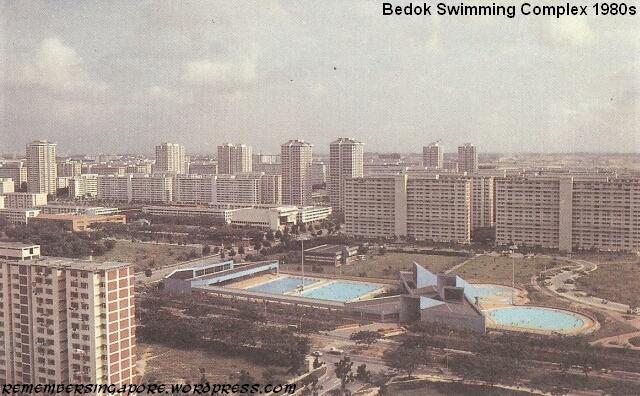 bedok swimming complex 1980s