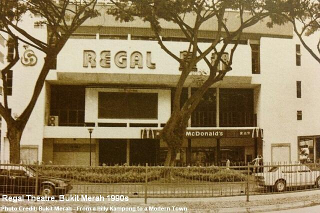 bukit merah regal theatre 1990s