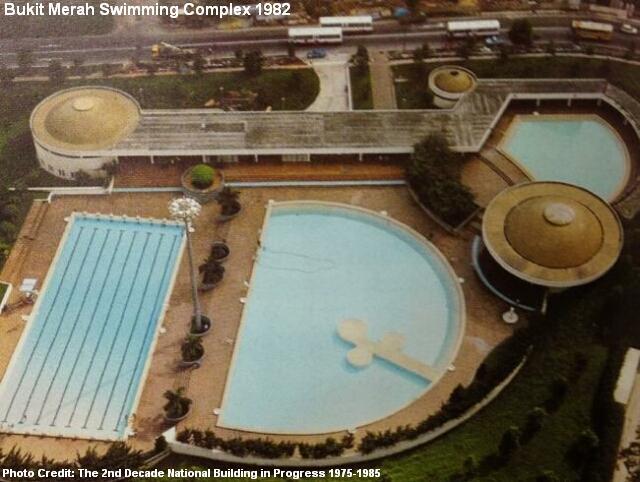 bukit merah swimming complex 1982