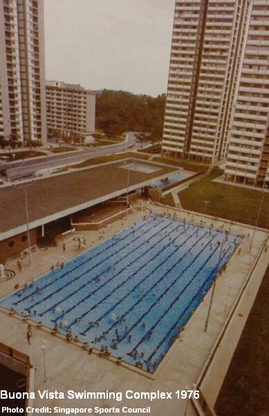 buona vista swimming complex 1976