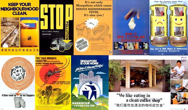 keep singapore clean campaign (1968-1990)