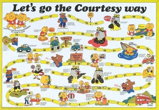 let's go the courtesy way 1983