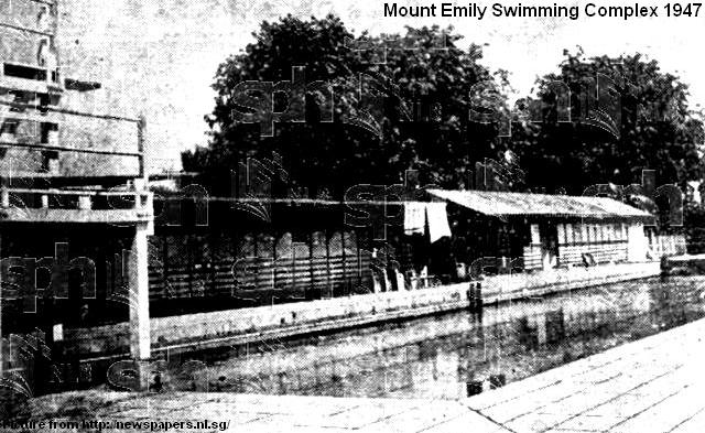 mount emily swimming complex 1947