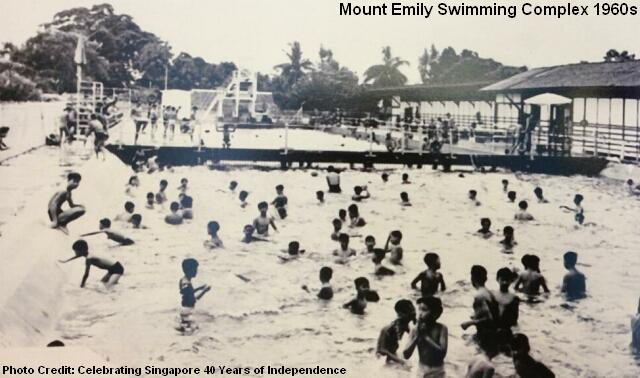 mount emily swimming complex 1960s
