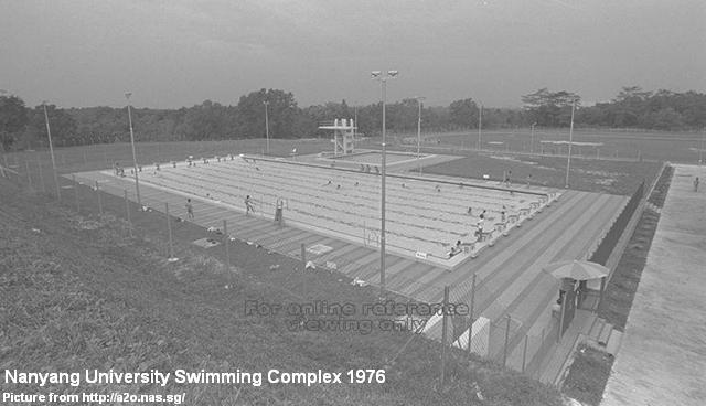 nanyang university swimming complex 1976