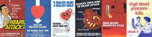 national heart week (1970s-1980s)