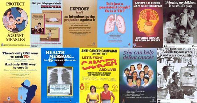 public health campaigns (1970s-1980s)
