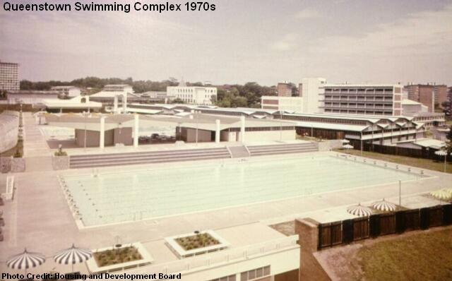 queenstown swimming complex 1970s