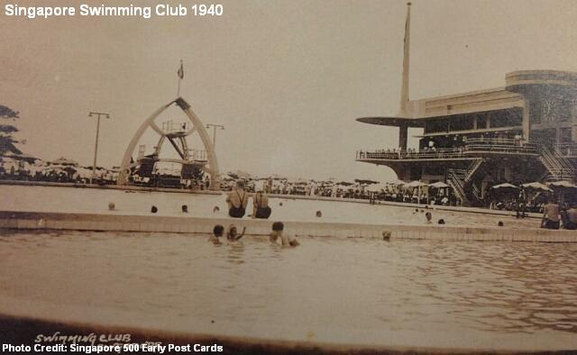 singapore swimming club 1940