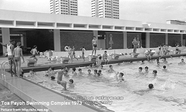 toa payoh swimming complex 1973