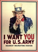 us army post i want you 1917