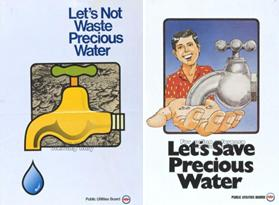 water conservation campaigns 1980s