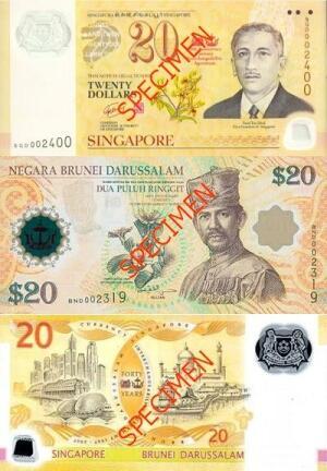 40th anniversary of interchangeability agreement singapore brunei 2007