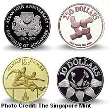 commemorative coins 1970s