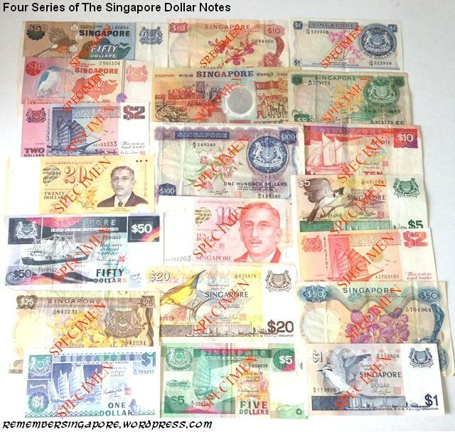 singapore notes four series