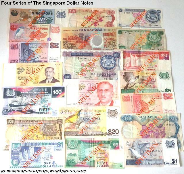 singapore notes four series