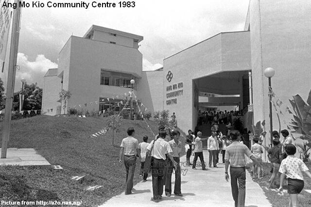 ang mo kio community centre 1983